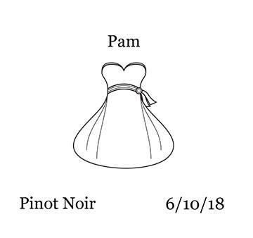 Bride Wedding Dress Wine Bottle Label