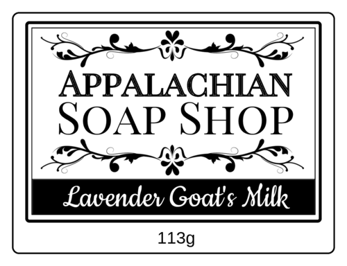 Apothecary-Style Soap Label