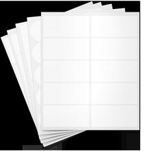 Blank Sheet Labels